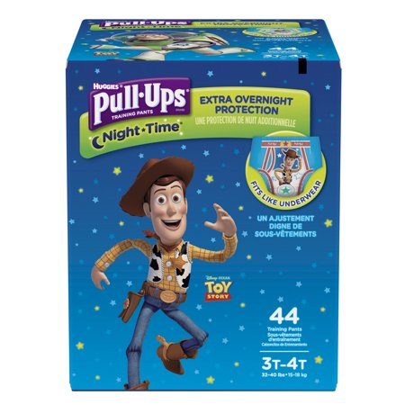 Pull-Ups Boys' Night-Time Potty Training Pants (Choose Size and Count) Cloth Potty Training Pants
