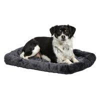 "Midwest Quiet Time Pet Bed, Small, 24"", Gray"