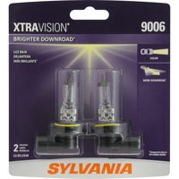 SYLVANIA 9006 XtraVision Halogen Headlight Bulb, Pack of 2