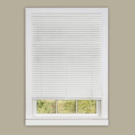 Red Mini Blinds - Achim Cordless Deluxe Sundown 1