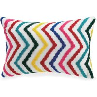 """Better Homes and Gardens Embroidered Chevron Youth Pillow, 12"""" x 18"""""""