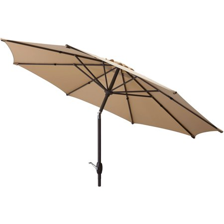 Mainstays 9' Outdoor Market Umbrella- Multiple - Lighting Accessories Umbrellas