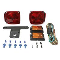 """MaxxHaul 70094 12V Trailer Light Kit (For Trailers Under 80"""")"""