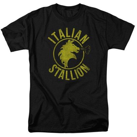 Italian Short - Rocky Italian Stallion Horse Mens Short Sleeve Shirt