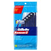 Gillette Sensor2 Disposable Razor, 18 Count