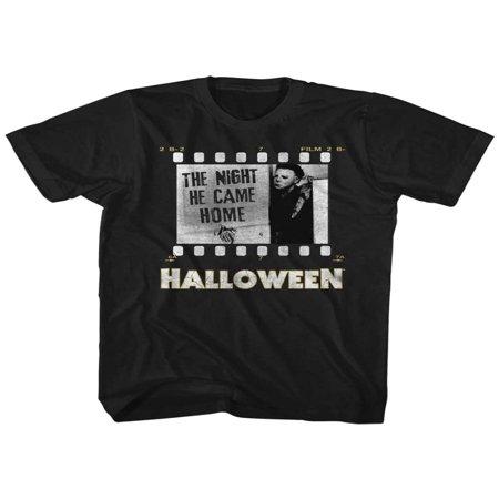 Halloween Scary Horror Slasher Movie Film Strip Night He Came Home Adult - Halloween Filmstrip