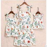 30adc8d497ebb8 Floral Family Dress Mother and Daughter Matching Girls Daughter Outfits  Dresses