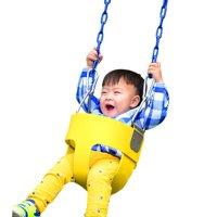 Children Baby Full Bucket Seat Swing  Set Slide Playground Park HDPML