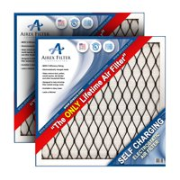 20x20x1 Lifetime Electrostatic AC Furnace Air Filter. Washable. Never Buy another Filter Again