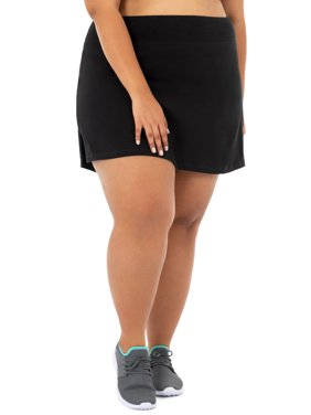 Women's Plus Size Active Skort