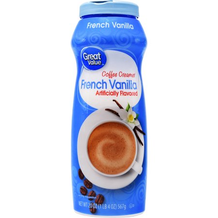 - (6 Pack) Great Value Coffee Creamer, French Vanilla, 20 oz