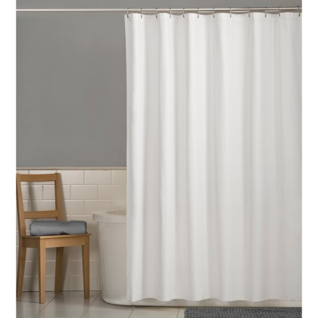 Rice Vinyl Shower Curtain - Mainstays Water Repellent 72