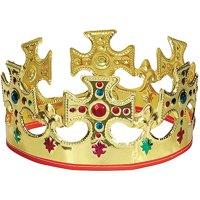Adjustable Gold King Crown, 1ct