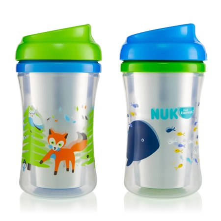 First Essentials by NUK™ Insulated Cup-like Rim Sippy Cup, 9 oz., 2-Pack - Sofia The First Cups