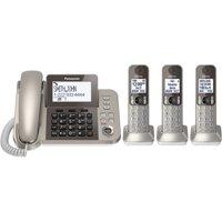 Panasonic KXTGF353N Dect 3-Handset Landline Telephone