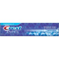 Crest 3D White Arctic Fresh Whitening Toothpaste, Icy Cool Mint, 6.4 oz