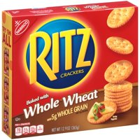 (2 Pack) Nabisco Ritz Whole Wheat Classic Crackers, 12.9 oz
