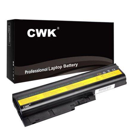 CWK Long Life Replacement Laptop Notebook Battery for IBM Lenovo ThinkPad R60 T60 T60p R61 T61 R60 T60p T61p Z61e SL300 SL400 SL500 42t4504 SL300 SL400 SL500 R60e R60i R500