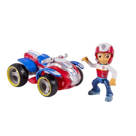 Paw Patrol Ryder's Rescue ATV, Vechicle and Figure - Ryder From Paw Patrol