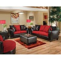 Flash Furniture Riverstone Sierra Microfiber Loveseat and Sofa Set