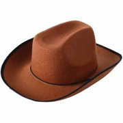 c5df88c2 School Sprit Felt Cowboy Hat, Brown