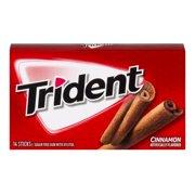 Trident Sugar Free Gum Cinnamon - 14 Ct