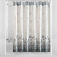 Mainstays Silver Leaves Shower Curtain