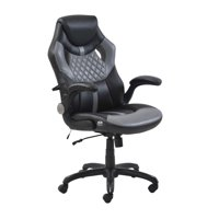 Gaming Style Office Chair with Racing Style Chair Design with Rich Contrasting Colors - True Innovations