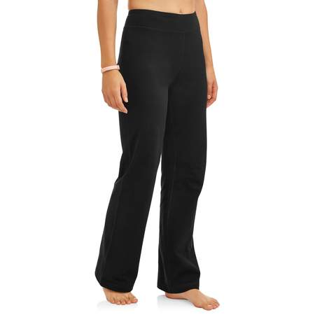 Women's Dri More Core Bootcut Yoga Pant Available in Regular and Petite Bi Stretch Welt Pocket Pants