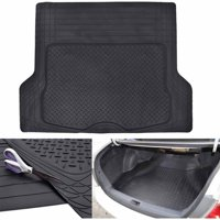 """Motor Trend Premium Odorless Heavy-Duty Trimmable Thick Rubber Cargo Floor Mat Liner, 43.2"""" x 53.7"""""""
