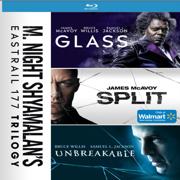 Glass Triple Feature (Glass / Split / Unbreakable) (Walmart Exclusive) (Blu-ray)
