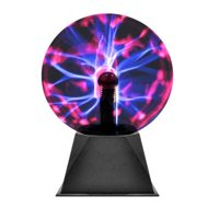 Decorative Bright Color Globe Plasma Lamp