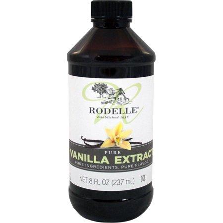 Rodelle Pure Vanilla Extract, 8 oz Bottle