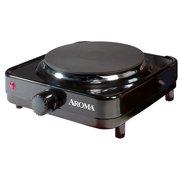 Aroma Single Burner Portable Electric Range Hot Plate Ahp 303