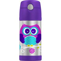 Genuine Thermos Brand Owl Funtainer, 12 Ounces