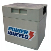 00801-0638 Battery 12 Volt Gray Power Wheels Fisher Price Grey