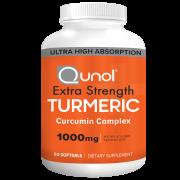 Qunol Extra Strength Turmeric Supplement Capsules, 1000mg, 60ct.