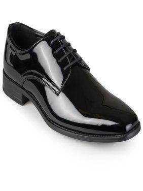 Men's Lace-Up Faux Leather Dress Shoes