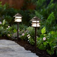 Better Homes and Gardens Frayser 1 Piece Outdoor QuickFIT LED Pathway Light