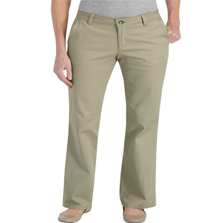 Womens Dockers - Women's Slim Fit Straight Leg Bootcut Stretch Twill Pants
