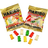 (2 Pack) Haribo, Goldbears Gummi Candy, 22.8 Oz