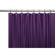 fc01501facc Hotel Collection Premium Heavy Duty Vinyl Shower Curtain Liner with Metal  Grommets - Purple