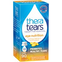 (2 pack) TheraTears Eye Nutrition Omega-3 Softgels, 1200 Mg, 90 Ct