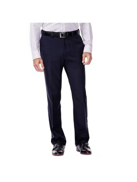 Men's E-CLO Stria Flat Front Dress Pant Classic Fit HD00218