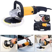 7 6 Variable Sd Car Electric Polisher Buffer Waxer Sander Detail Boat W Case