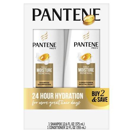 Pantene Pro-V Daily Moisture Renewal Shampoo and Conditioner (Best Shampoo And Conditioner To Get Silky Hair)