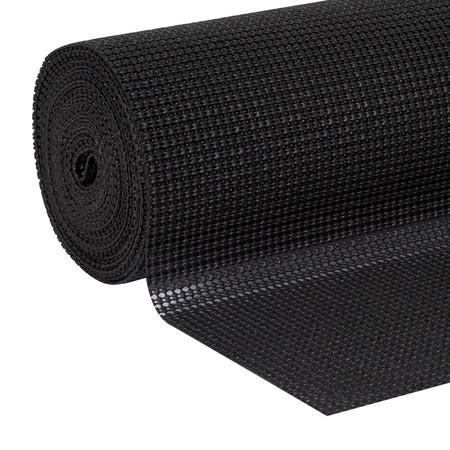 - EasyLiner Select Grip 20 In. x 24 Ft. Shelf Liner, Black