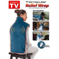 As Seen on TV Relief Wrap, Heat Therapy Wrap, Blue