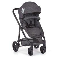 Mia Moda Marisa Three-in-One Stroller, Grey