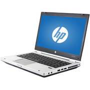 "Refurbished HP Silver 14"" EliteBook 8460P WA5-0930 Laptop PC with Intel Core i5-2410M Processor, 4GB Memory, 320GB Hard Drive and Windows 10 Home"